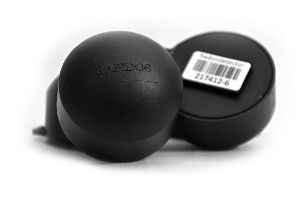 enviar correctamente los detectores de radón