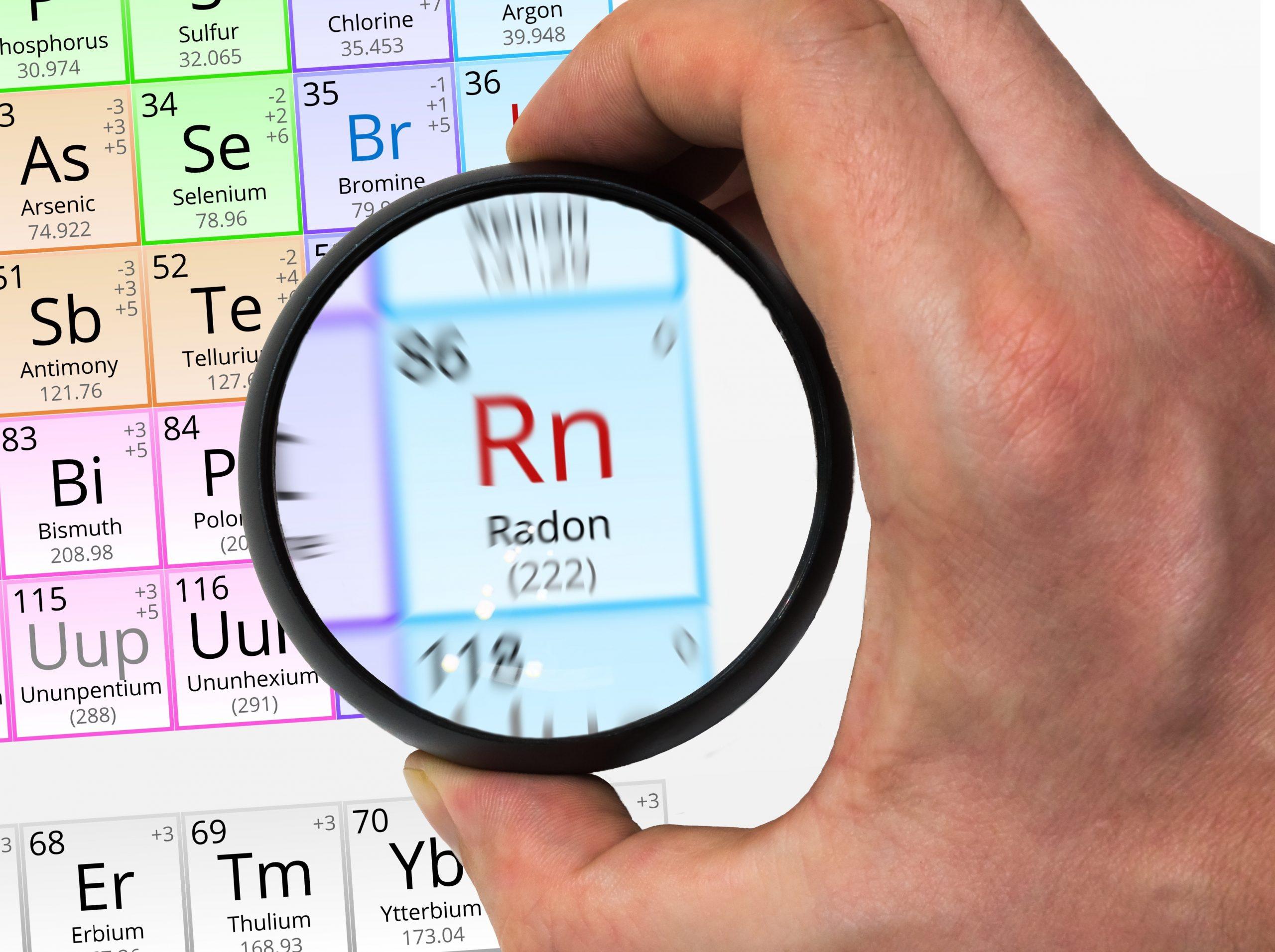 concentracion de radon