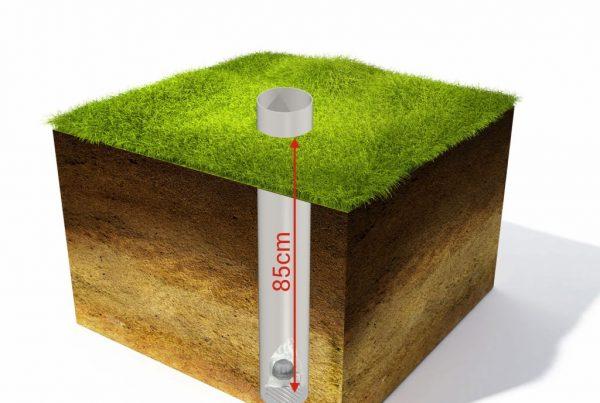 el radón en el suelo